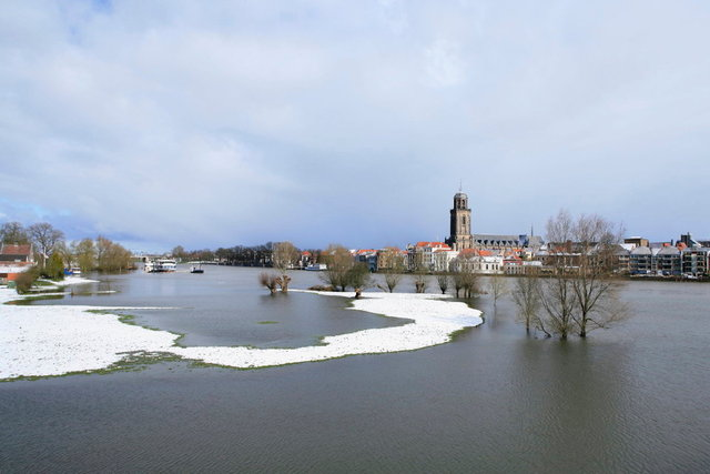 deventer - hoogwater