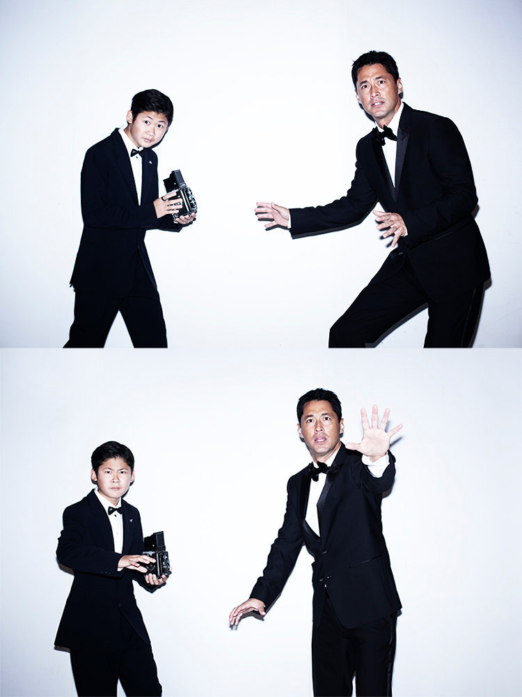王敏德 & 王躍穎 Michael Wong & his son