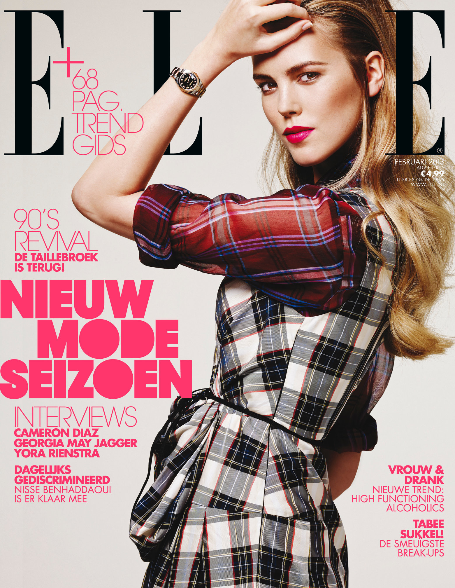Elle NL February  2013 Josefien Rodermans