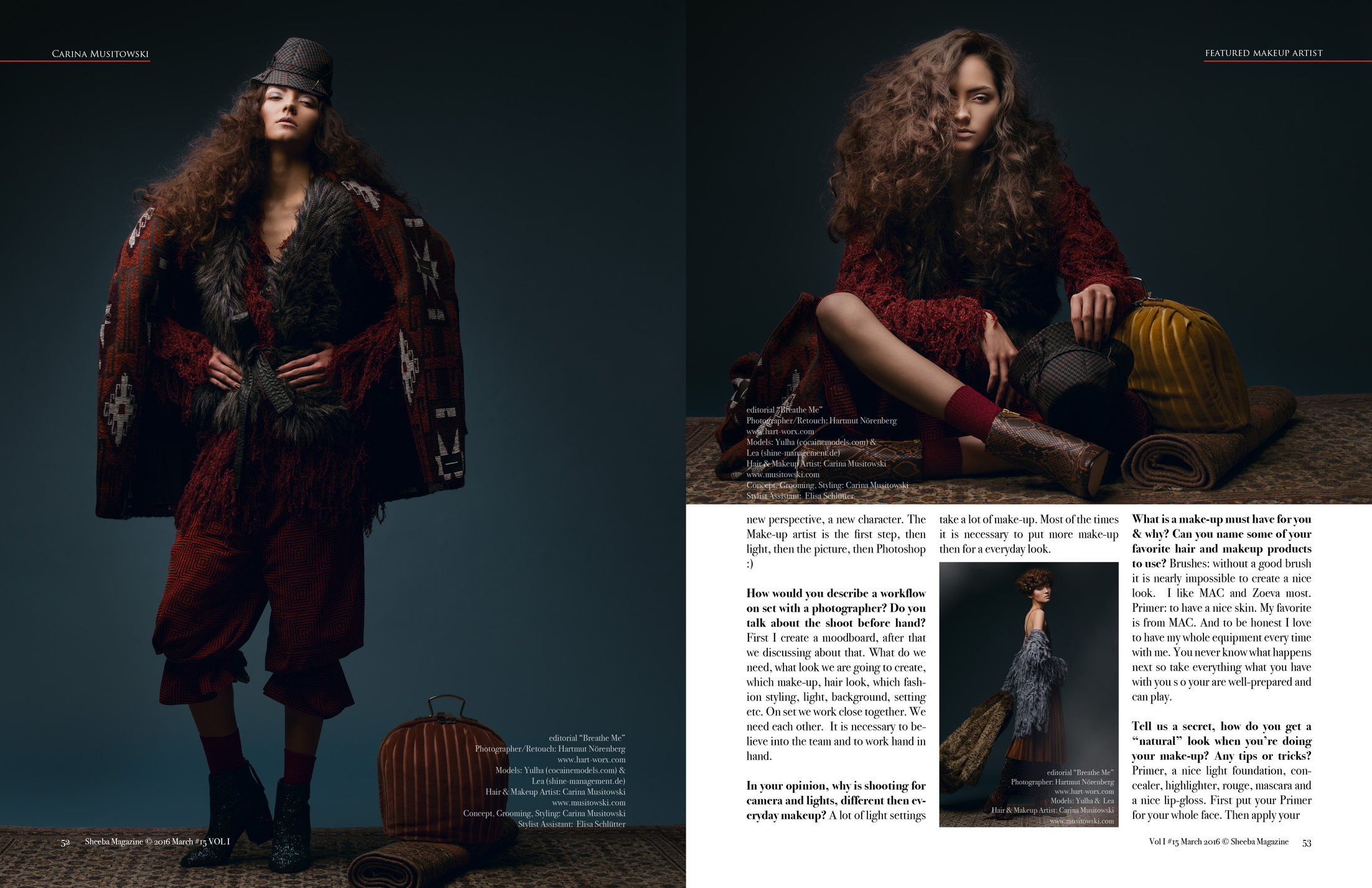 Sheeba Editorial