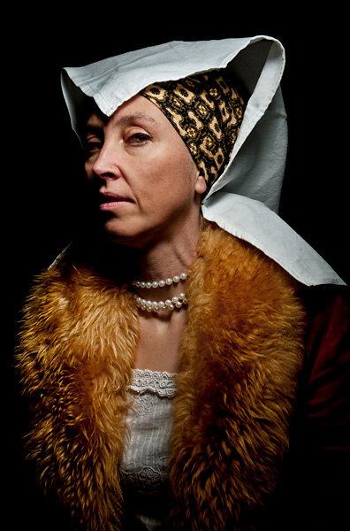Catherine de Saxe, Orléans, 1563.