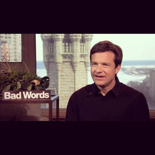 "Actor Jason Bateman for ""Bad Words"" Media Tour"