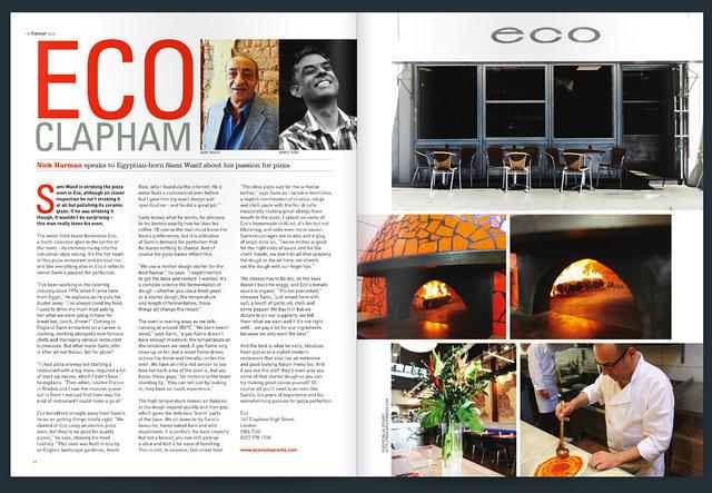 Eco Pizza article.
