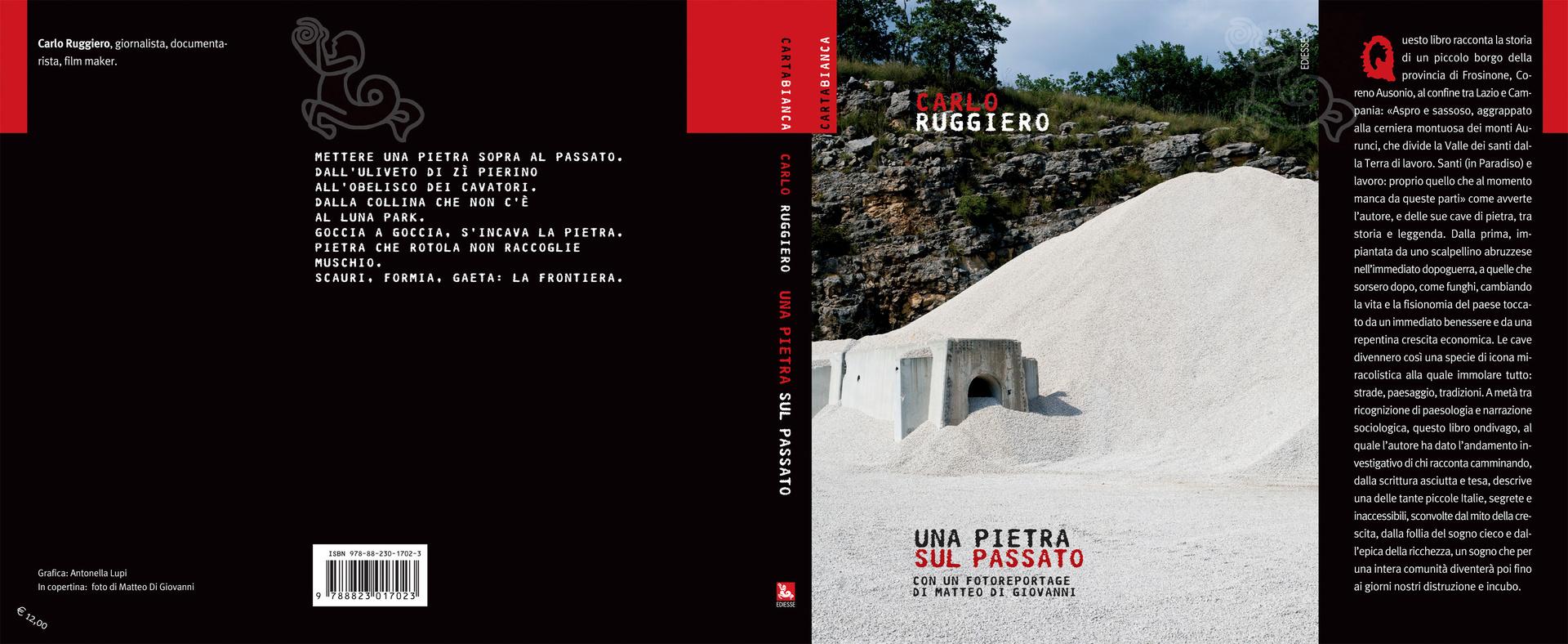 Una Pietra sul Passato, book cover