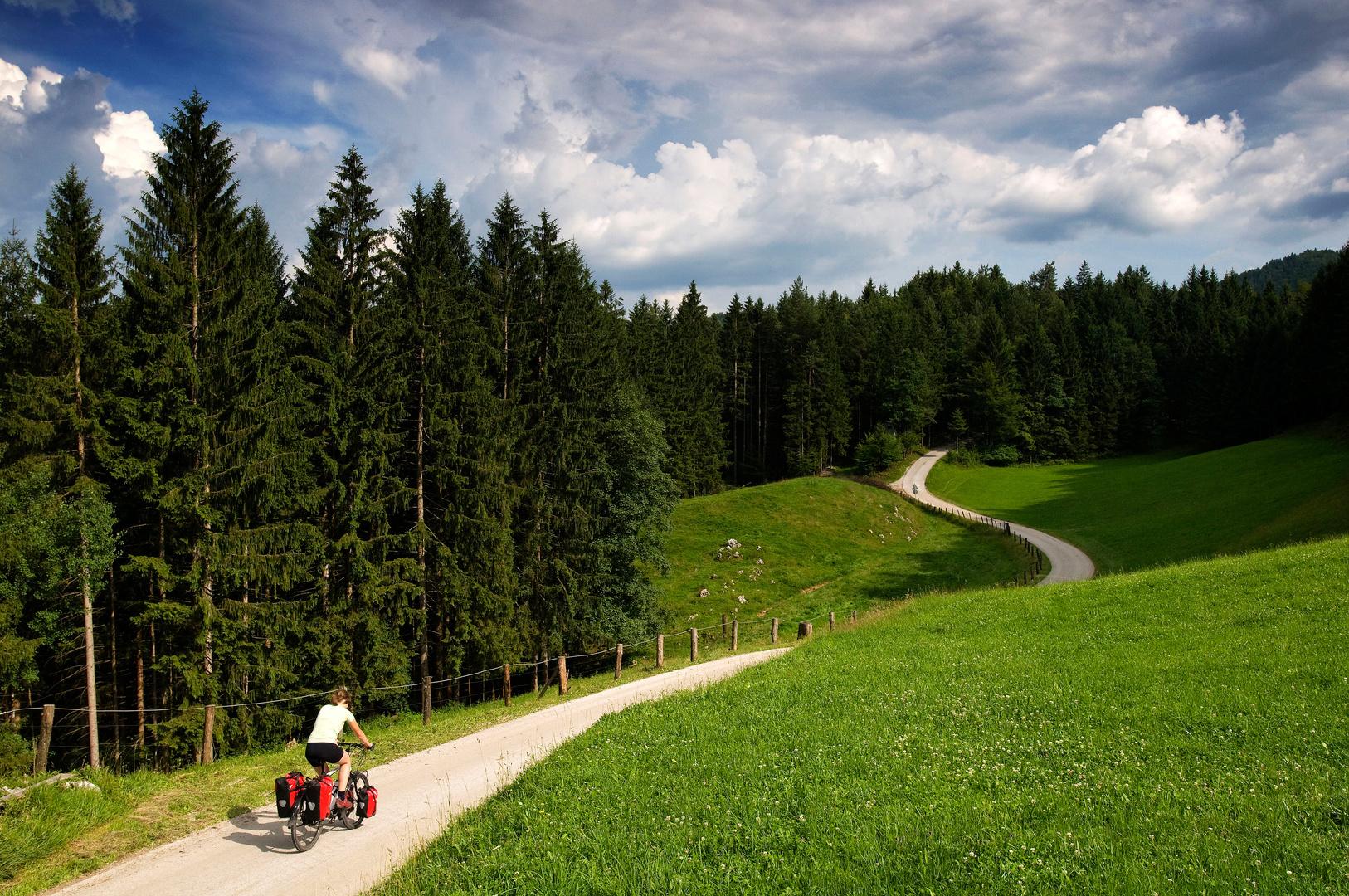 Fietstrip in Slowenie voor ANWB OpPad