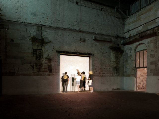 'Surface Tension' Art Installation, Cockatoo Island, Sydney