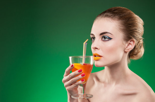 Olivia orange cocktail green background 1.jpg