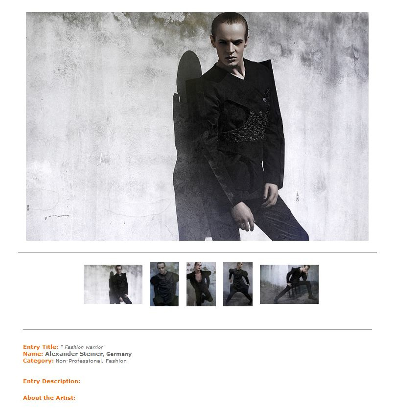 International Photography Award 2011