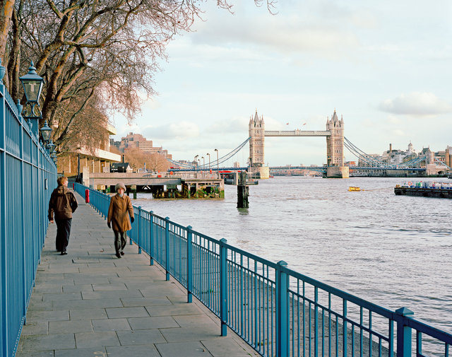 The Thames and Tower Bridge