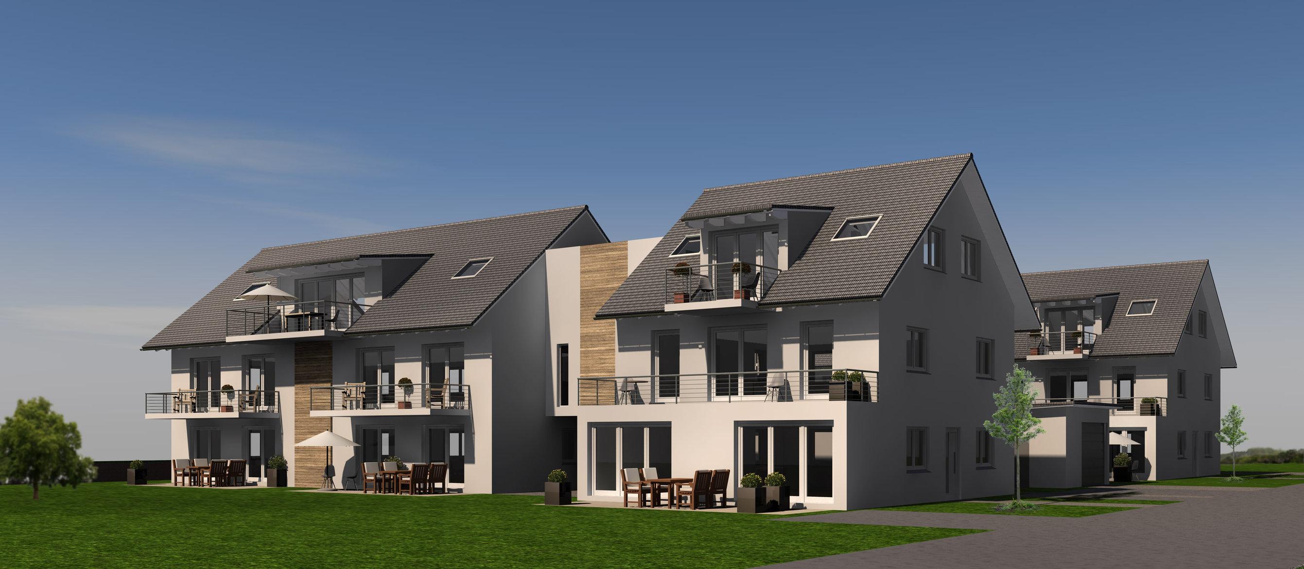 Mehrfamilienhäuser | Edling | Süd-Ost