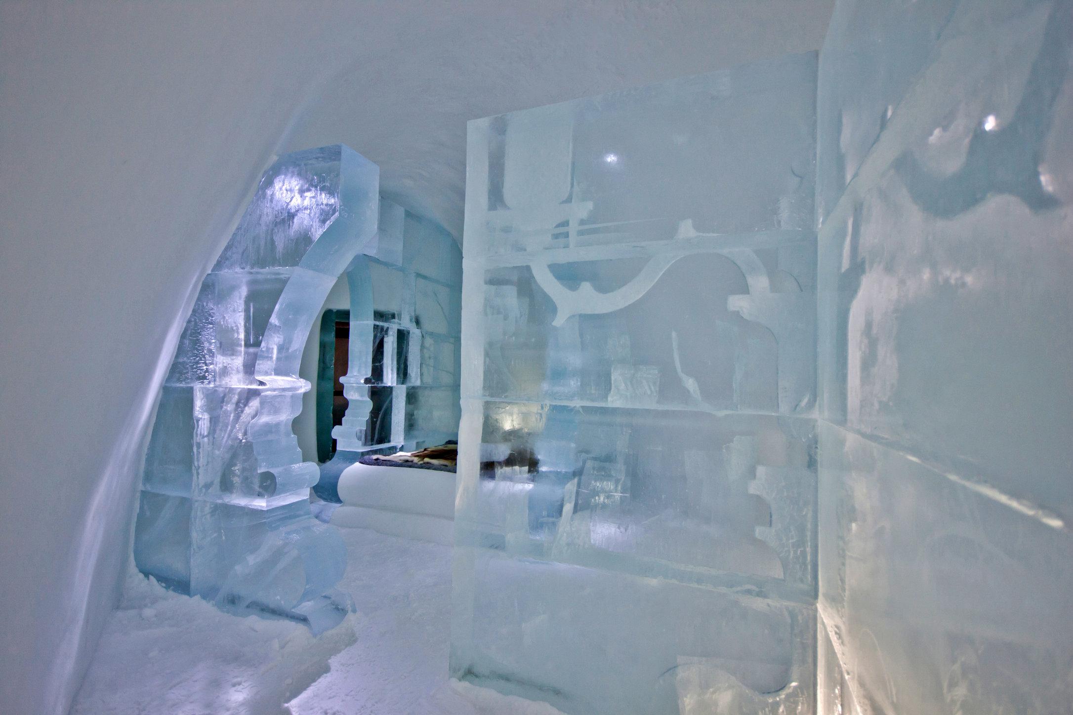 ICEHOTEL© Jukkasjärvi 2014/15 - Suite de luxe Rococo