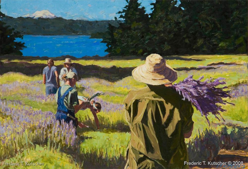 Lavender Harvesters