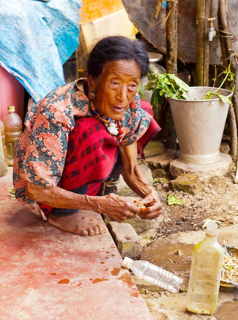 Longkhum Village, Nagaland, India