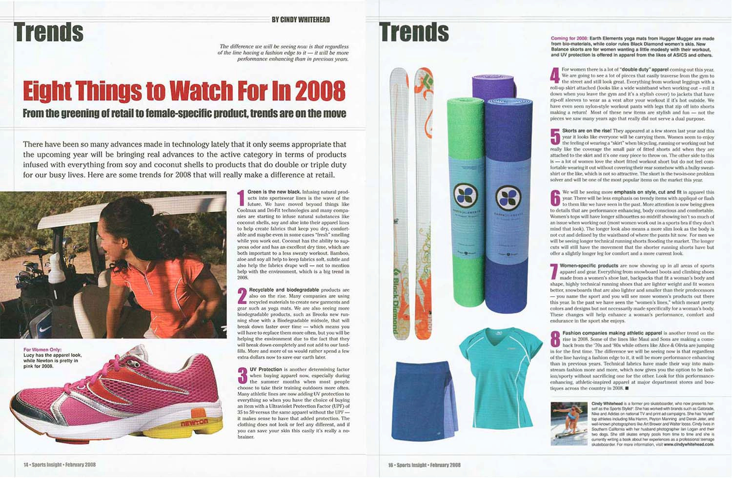 Trend Forecast / Sports Insight Magazine