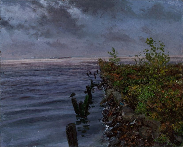 """Hudson Estuary       36 x 44"""""""