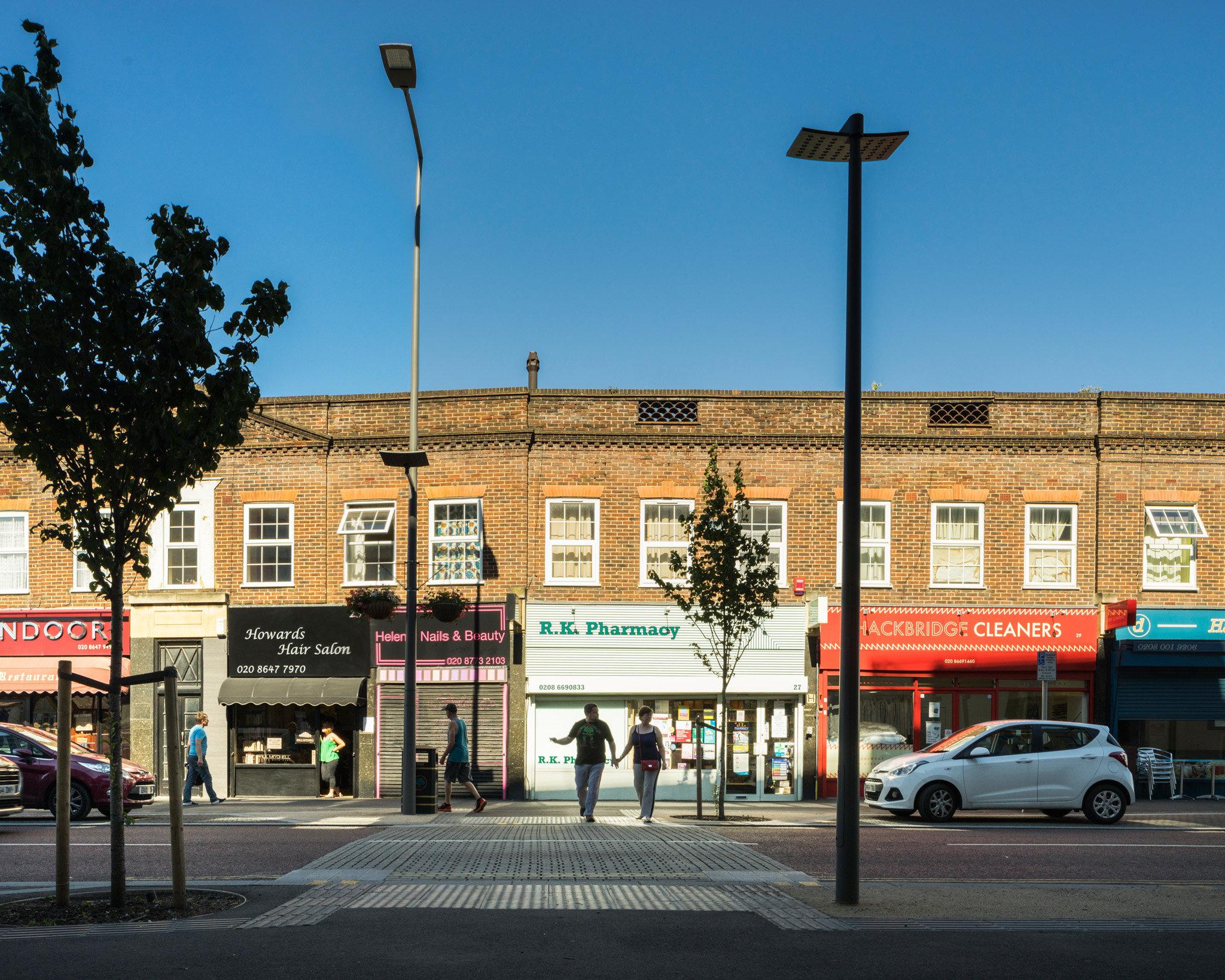 Hackbridge. Adams and Sutherland Architects