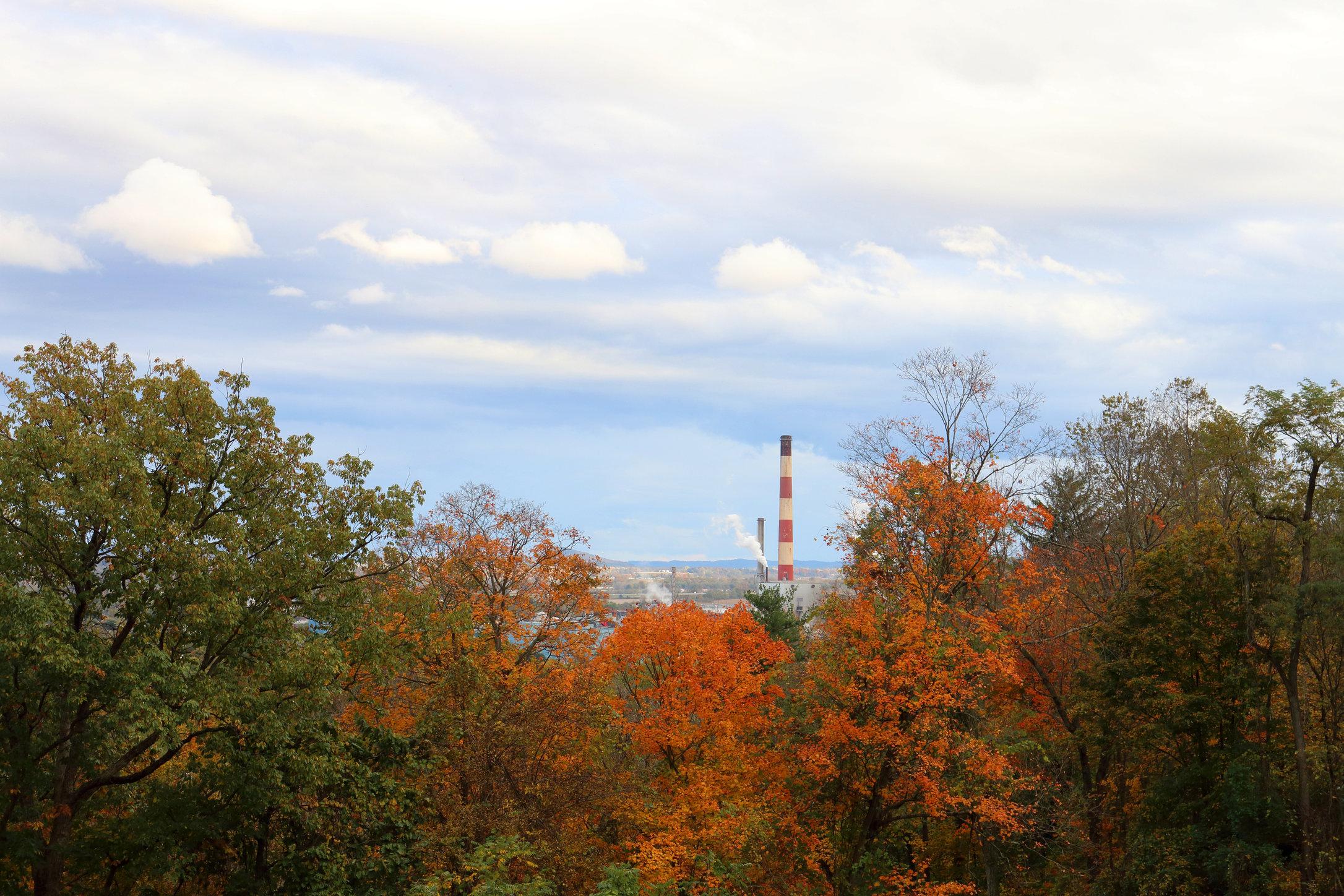 Glatfelter Smokestack; Chillicothe, Ohio.