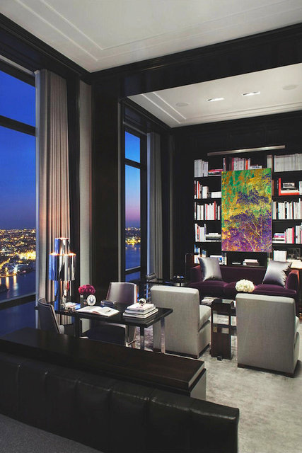 "Zion print 40x60"" Chicago penthouse library"