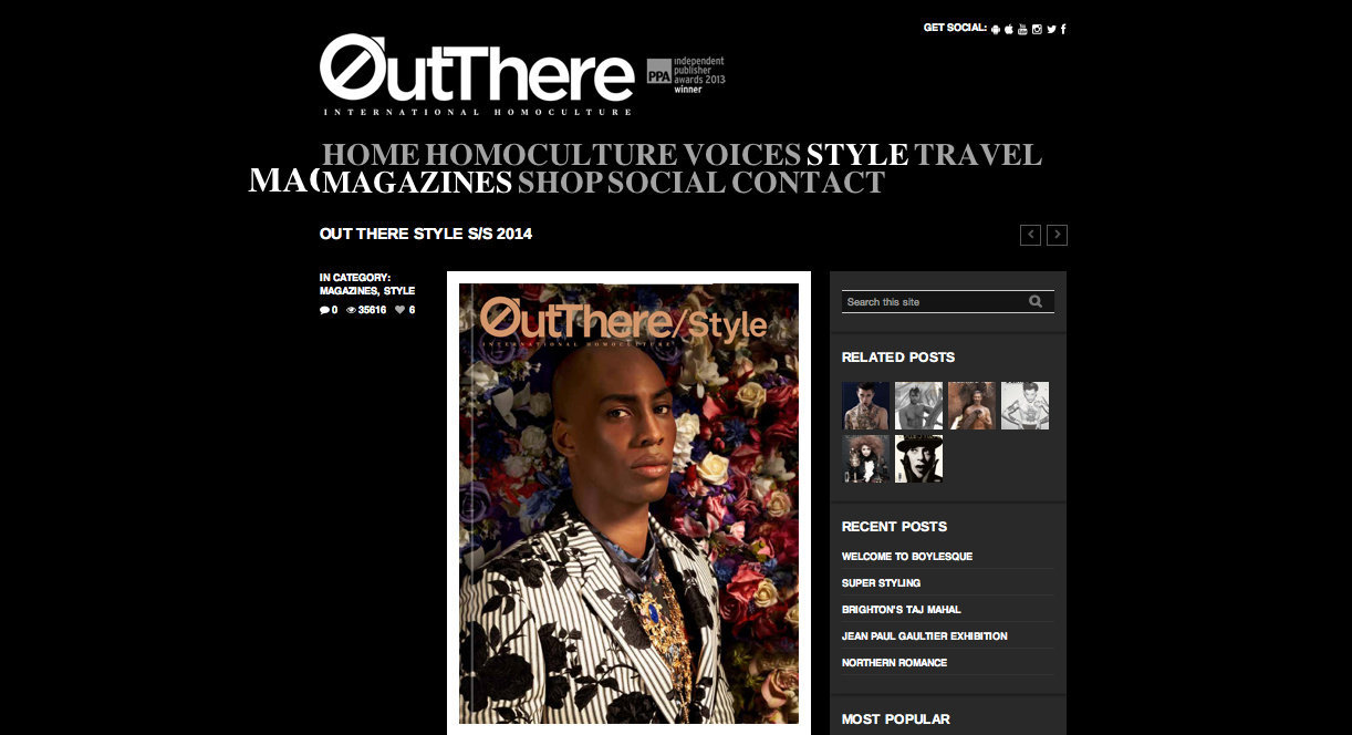 Cover http://www.outtheremagazine.com/style/out-there-style-ss2014/#sthash.a4joZR9t.dpbs