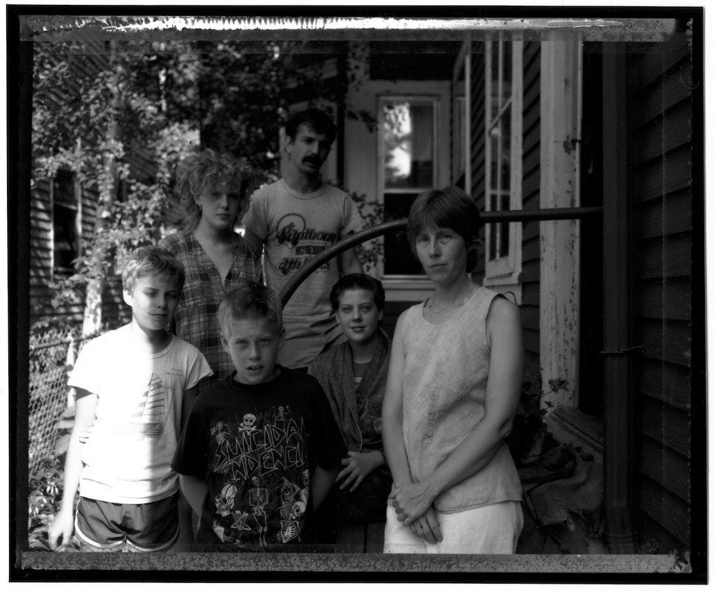 1985.08.24. Self, 4 Kids and Rob
