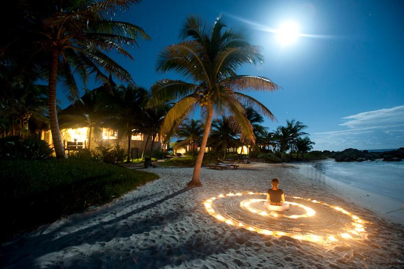 Beach Light Art