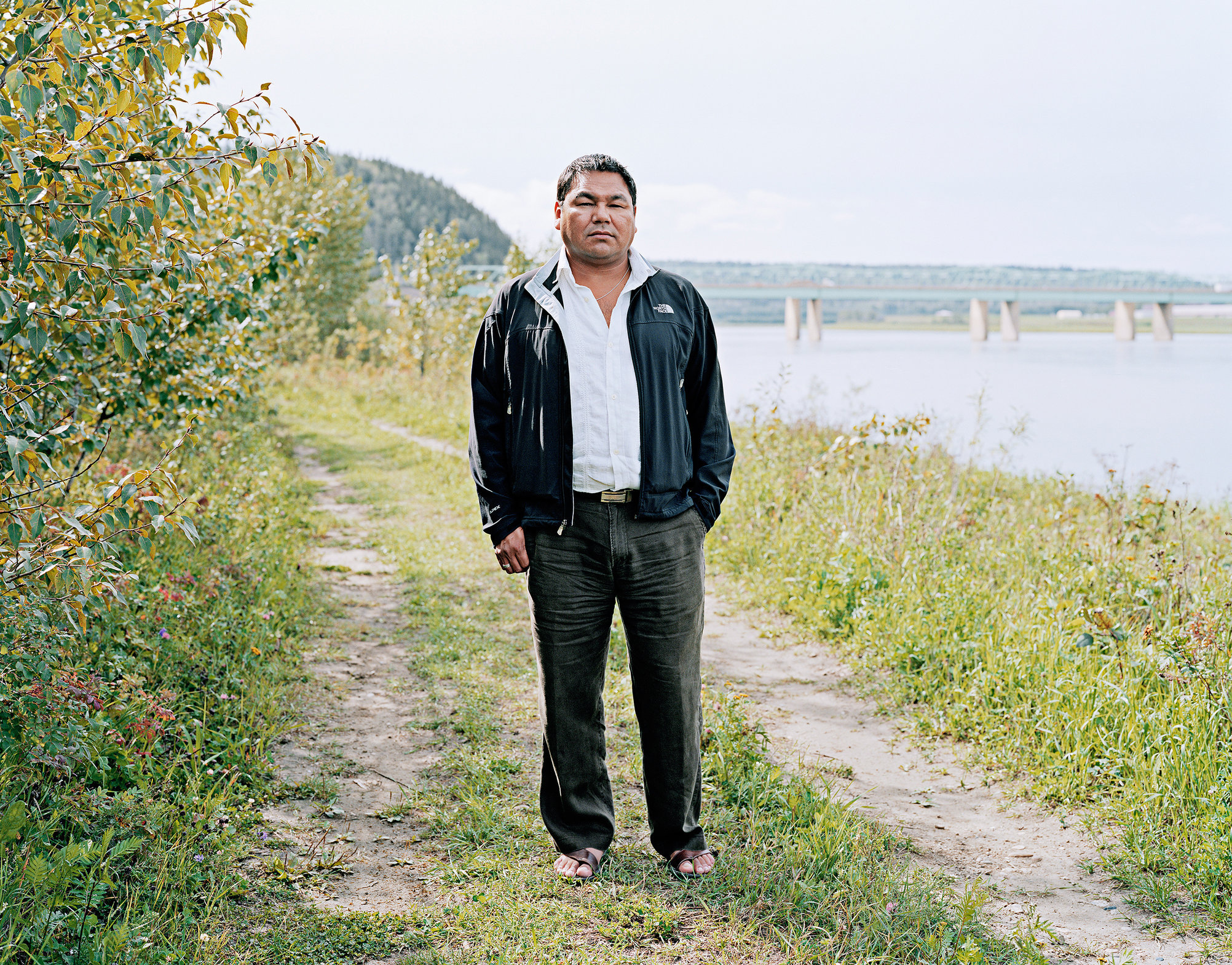 George Poitras, Mikisew Cree First Nation