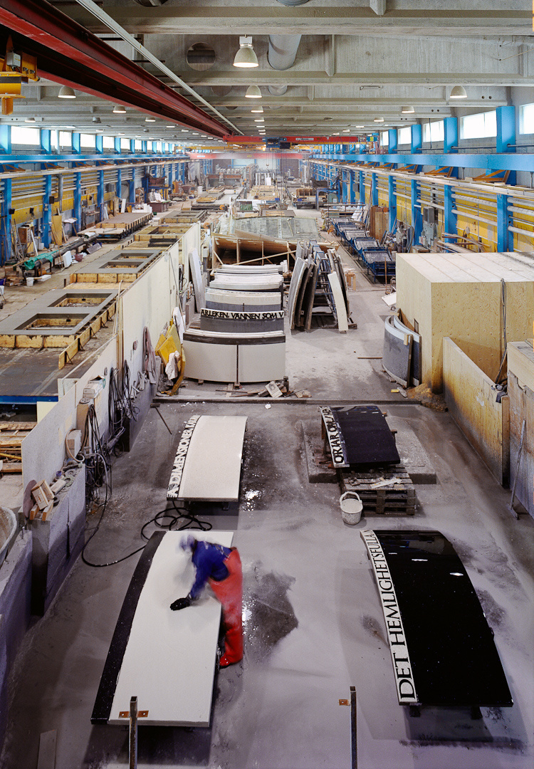Strängbetong factory, Herrljunga, Sweden