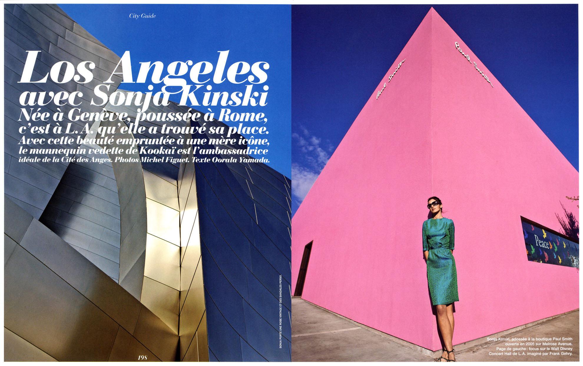 LOS ANGELES-SONJA KINSKY