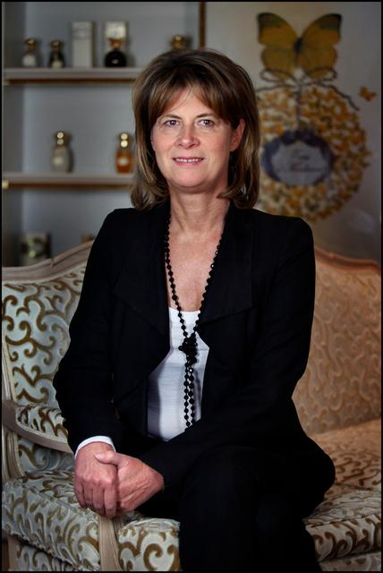 Brigitte Taittinger, PDG d' Annick Goutal