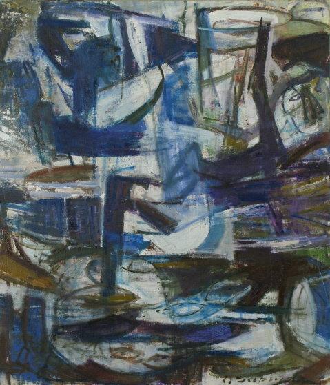 Abstrakcja3 120x80 olej płótno