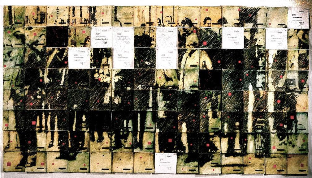 Installation detail of Cultural Landscape   2000
