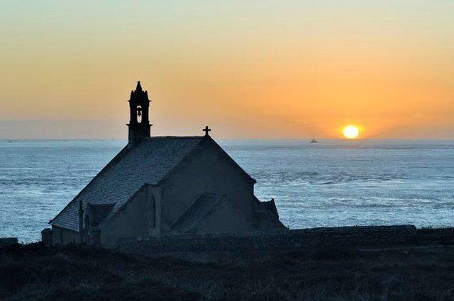 Chapelle Saint-They, pointe du Van, Finistère