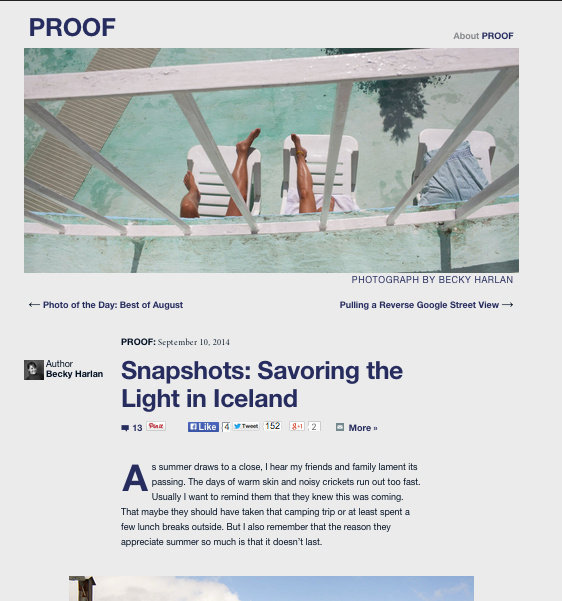 Proof, National Geographic's Photography Blog