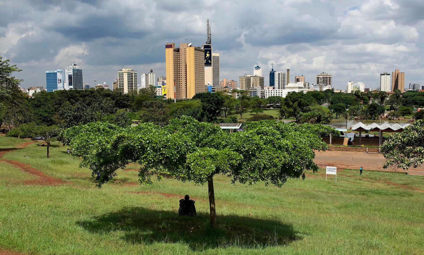 Stadspark Nairobi, Kenia