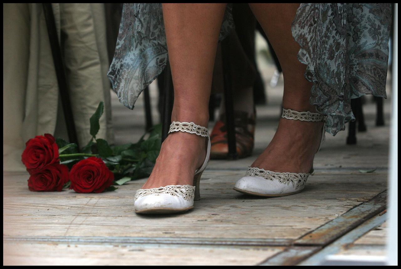 Des roses et les pieds de Ségolène royal