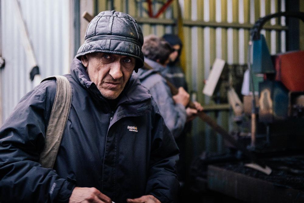 Metal worker.