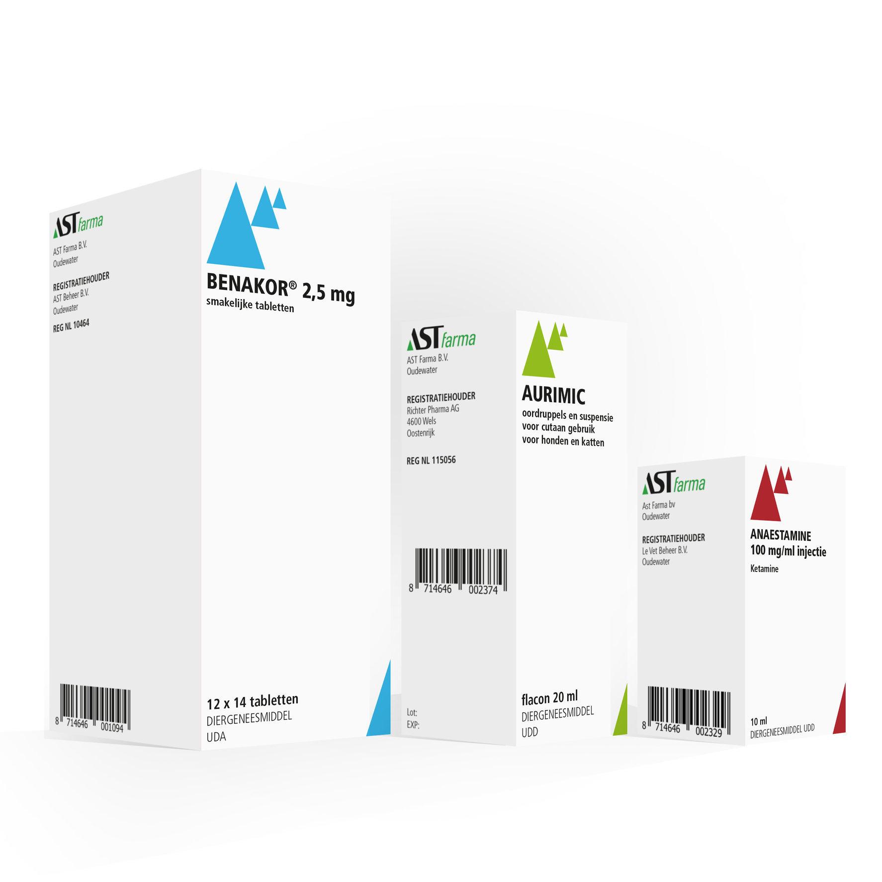 AST Farma | verpakkingen