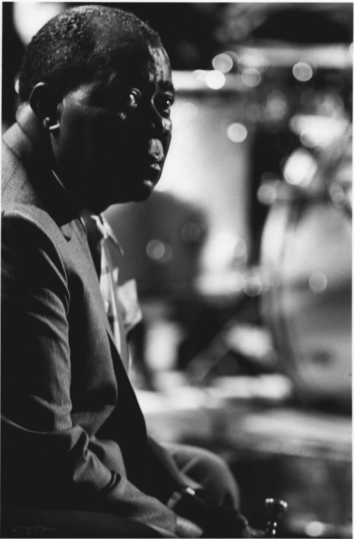 Louis Armstrong, BBC Rehearsal, London, 1965
