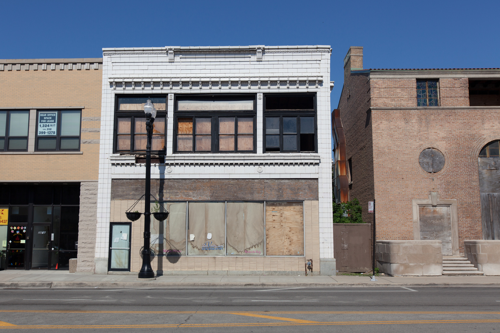 Vacant Storefront on Chicago's South Michigan Avenue