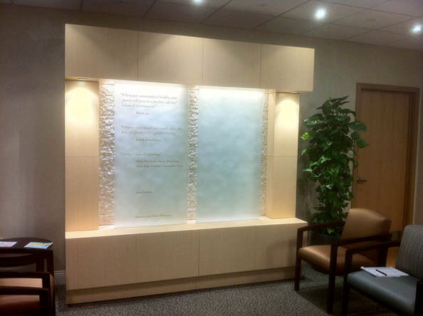 Holy Cross Reverence Wall - Unit 1
