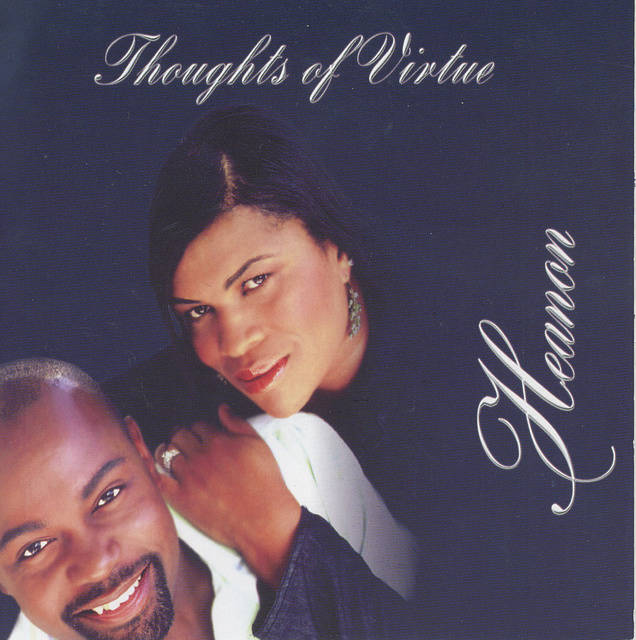 "HEANON TATE and wife LAKESHA -  SINGER RECORDING ARTIST, CD ""THOUGHTS OF VIRTUE"""