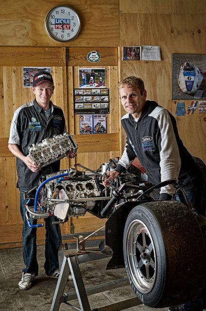 Bennie Streuer en Geert Koerts