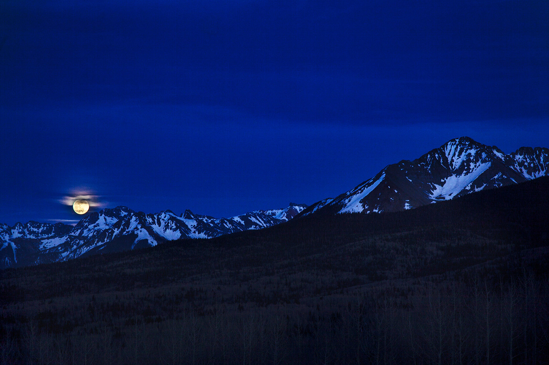 Moonrise Over Ophir