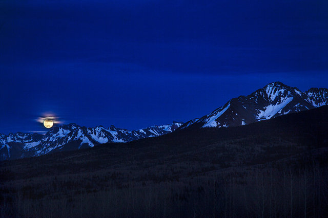 Moonrise Over Ophir