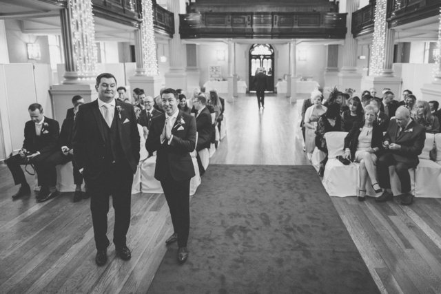 Alternative Wedding Photographer | St Andrew's in the Square | Glasgow | Scotland