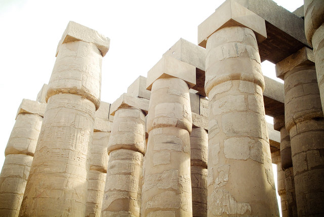Ancient Egyptian city of Thebes