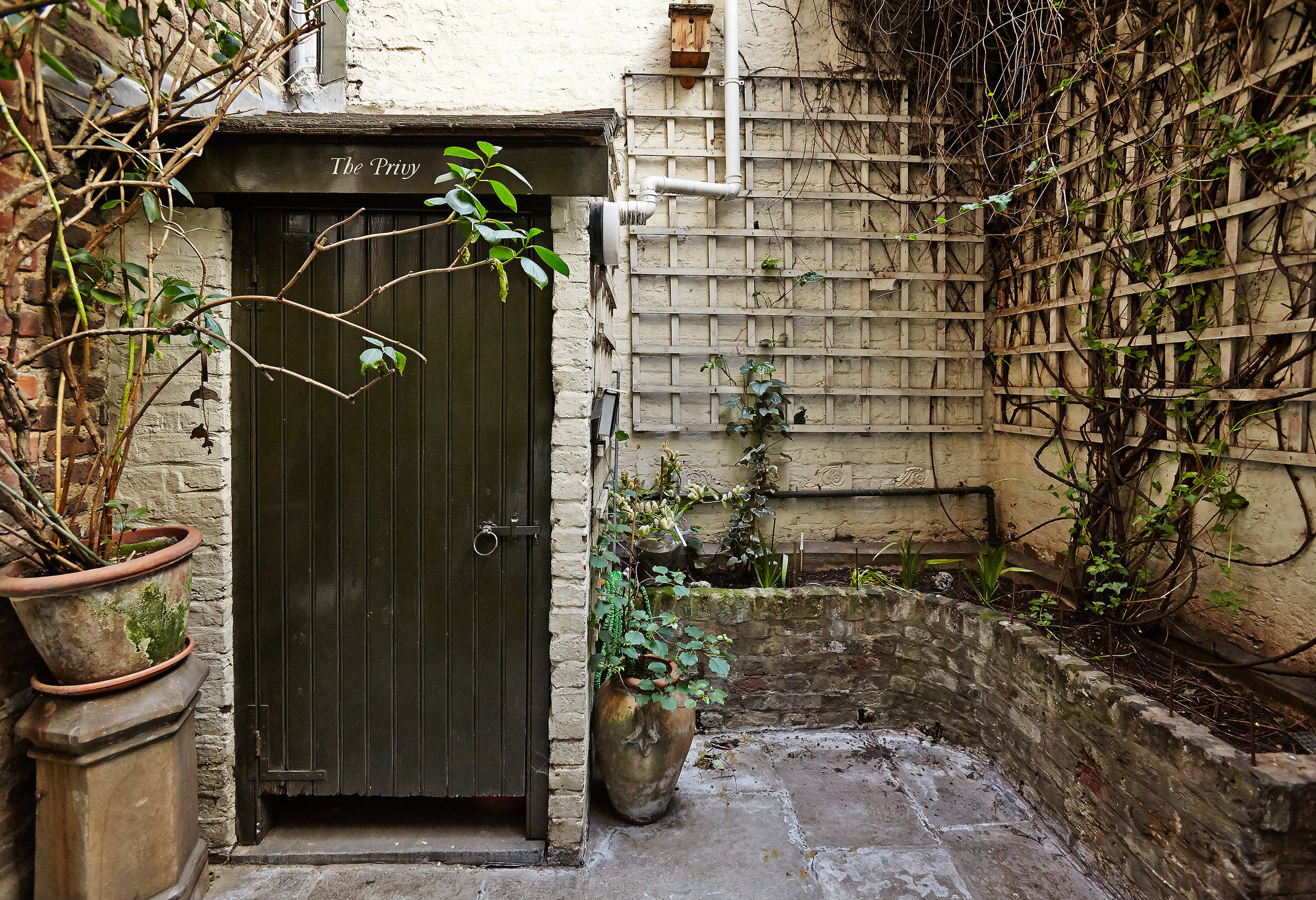 Family privy, 68 Dean Street, Soho, London.