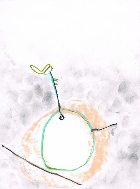 Zonder Titel, 2010  16,3 x 21,8 cm