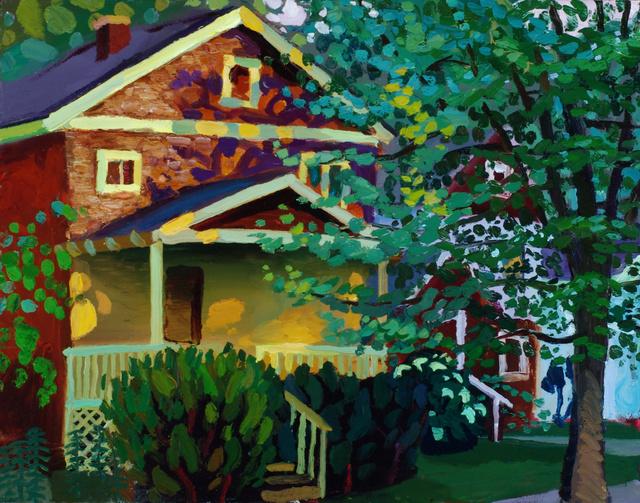 "Fall Creek, Ithaca, 22 x 28"""