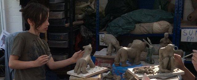 Easter Sculpture Workshop 2015